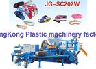Rotary Double Colors Jewelry Shoe Injection Molding Machine For Lady Beach Sandal / Slipper